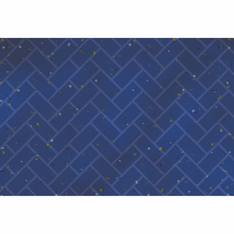 Japanese Pattern Background / Higaki / Navy