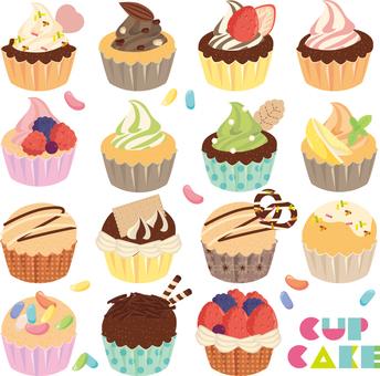 컵 케이크 세트