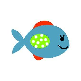 Blue fish 6