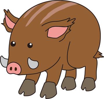 Chinese zodiac (wild boar)