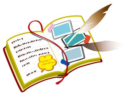 ブログのイメージ(ノートとペン)