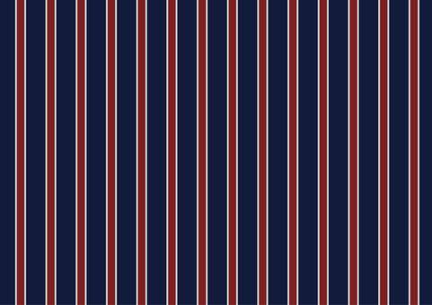 Striped navy red