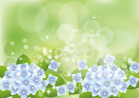 Green & hydrangea 7