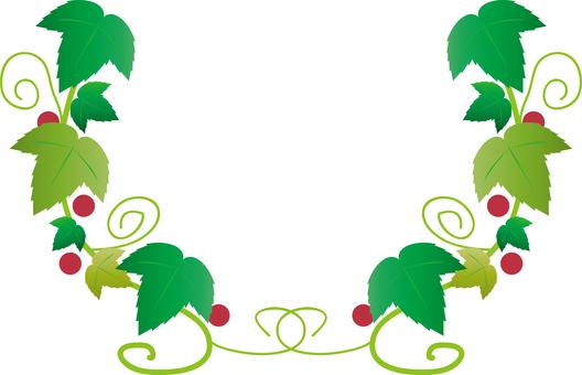 Arrow set (natural 01 · leaf frame)