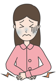 Cold symptoms-abdominal pain