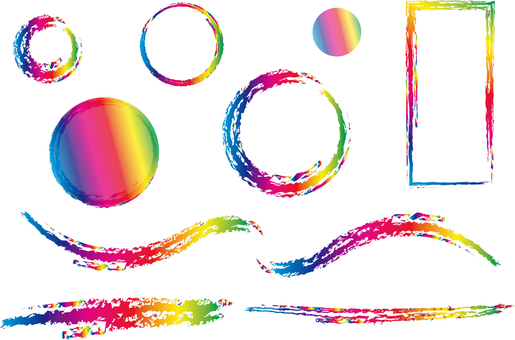 Rainbow framing set