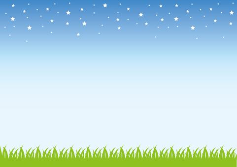 Sky, starry sky