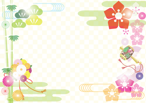 Japanese style frame 7