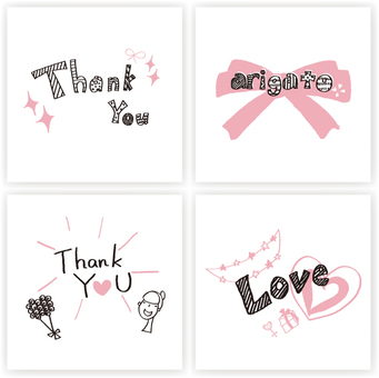 Message card (thak you)