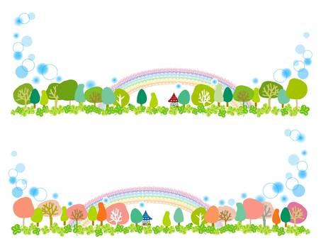 And wood _ _ rainbow