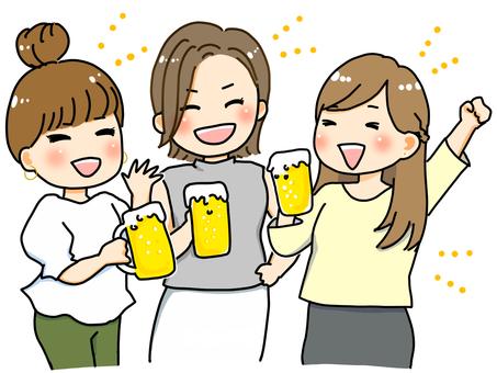 Beer garden (female)