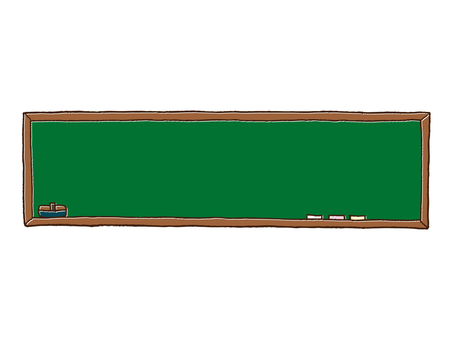 Horizontal blackboard