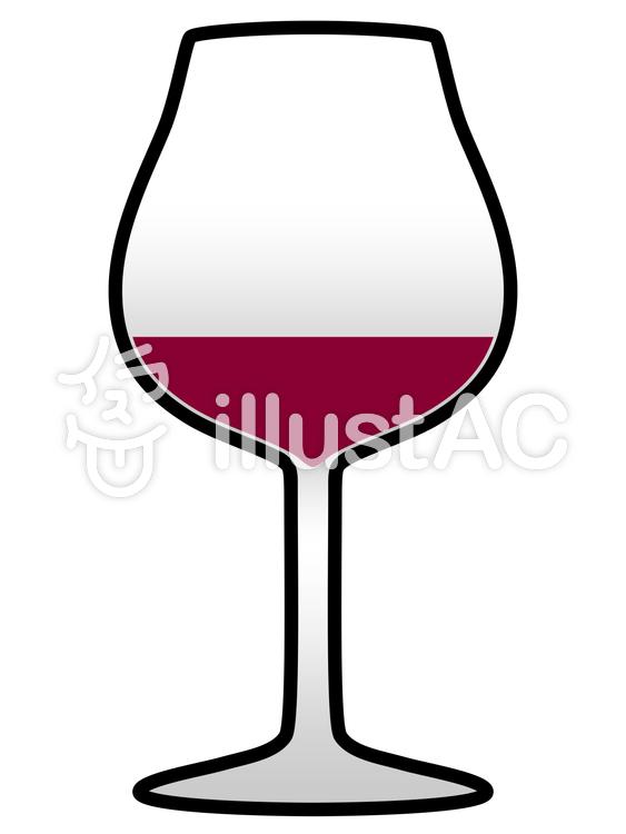 ワイングラスイラスト No 1257519無料イラストならイラストac