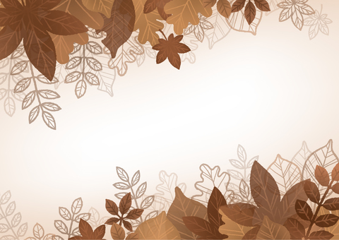 Fall Leaf Frame 02