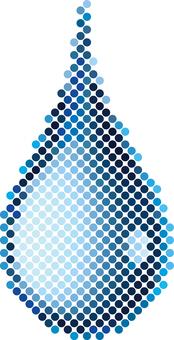 Water drop dot