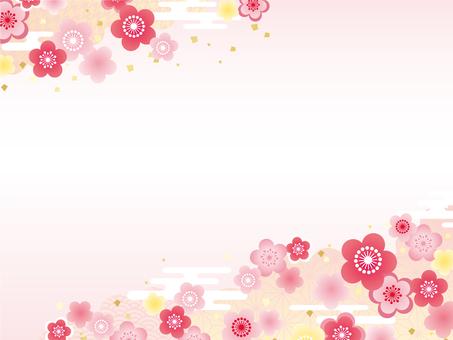 Plum blossoms Frame 01