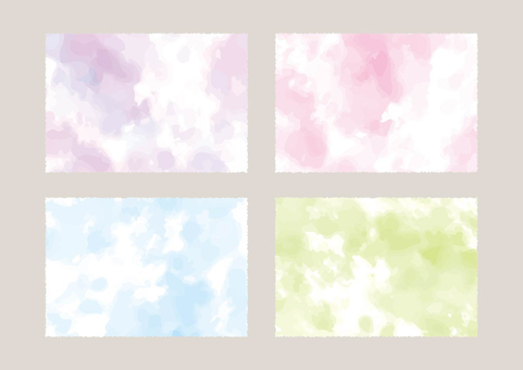 Watercolor-style marble background material 02
