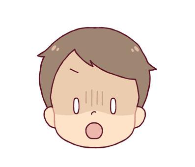 Facial expression - Garn (boy)