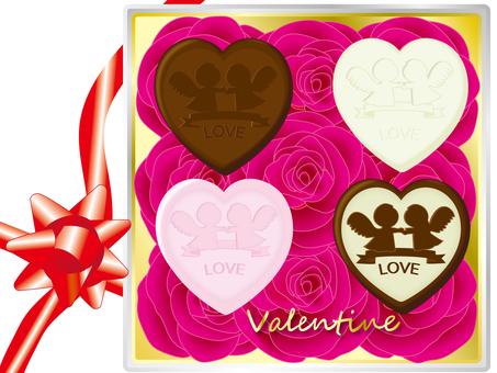 Valentine's chocolate assortment