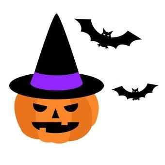傑克燈籠和蝙蝠