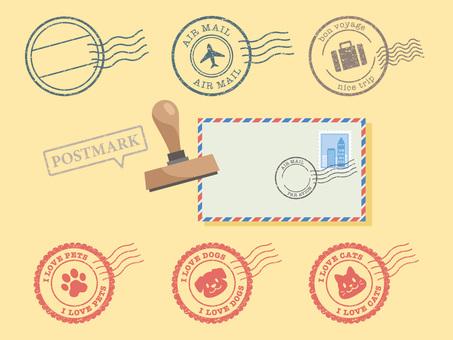 Various postmarks