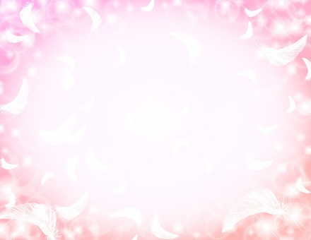 Feather _ Background _ Pink
