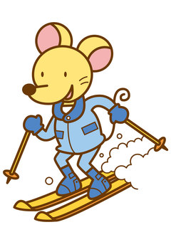 Mouse skiing 4c