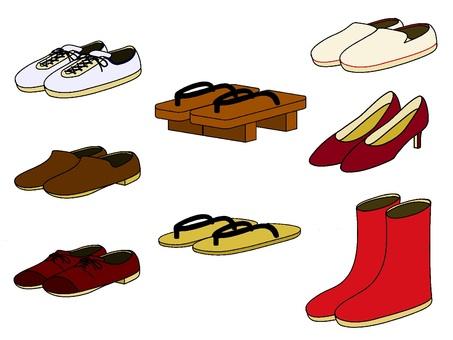 Footwear various