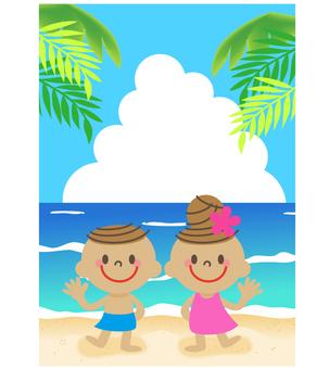 Beach twin