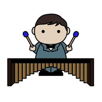 오케스트라, 비브라폰 연주자