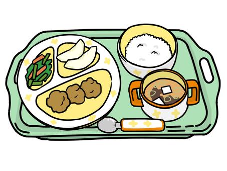 School lunch kindergarten