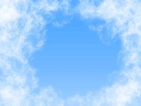 青空背景イラスト