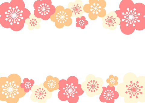 New Year background material 7b