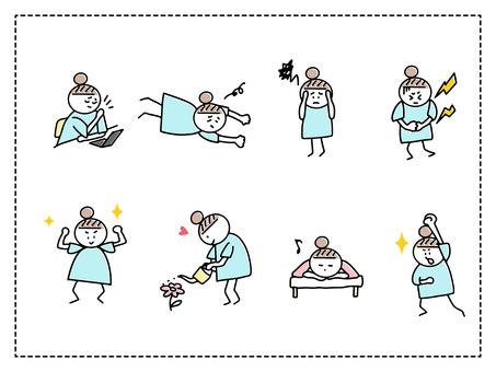 手描きイラスト集 4