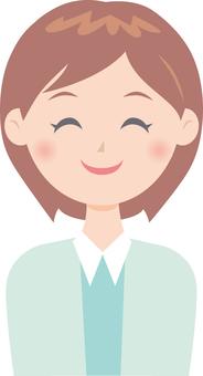Women (smile)