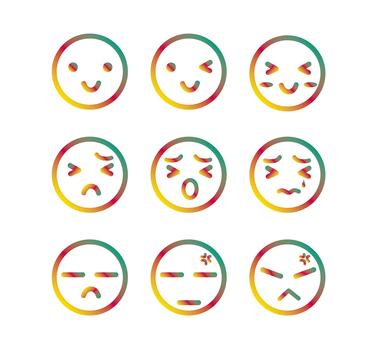 Emoticon Hanko