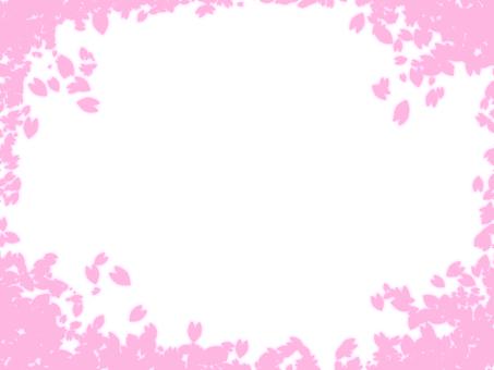 벚꽃 프레임 3 * 심플 *