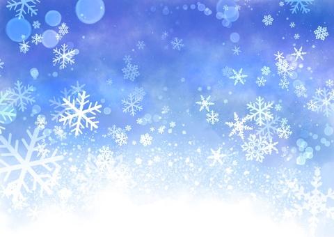 Clean winterscape color
