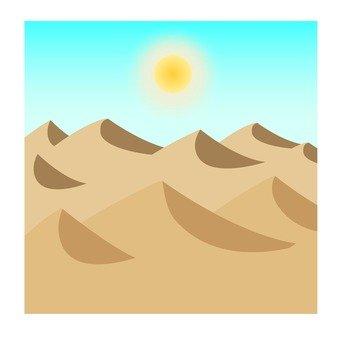 A sunny desert