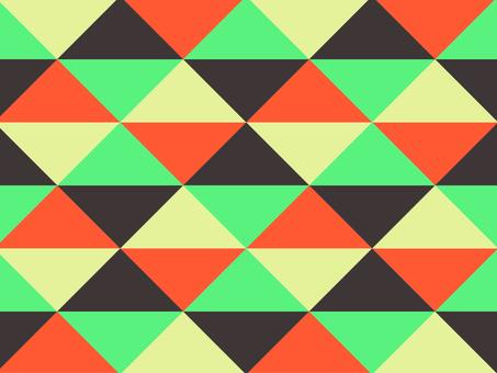 Texture triangular mosaic modern chic