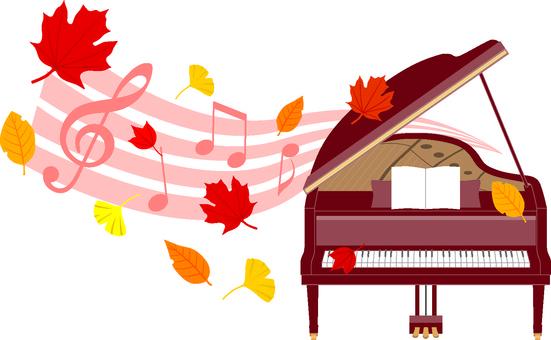 Fall piano