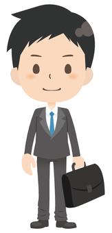 Businessman * Basic pose 04