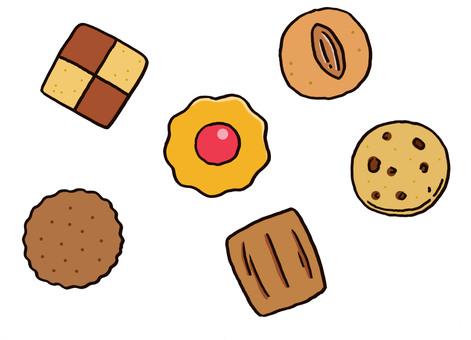 쿠키 다양한