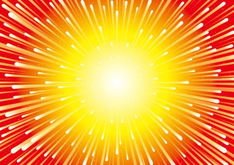 Warp burning wallpaper explosion big bang