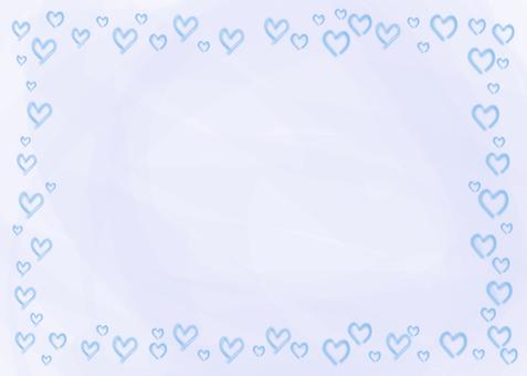 Watercolor Heart (Blue)
