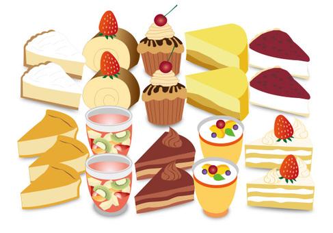 Cake cake shop sweets