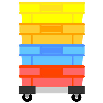 Container colorful