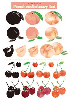 Assorted Peach and Sakura Pea