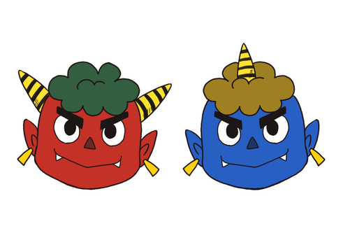 Blue Demon & Red Demon (Face Icon)