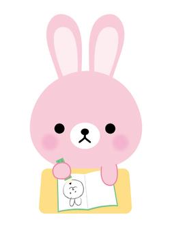Studying rabbits
